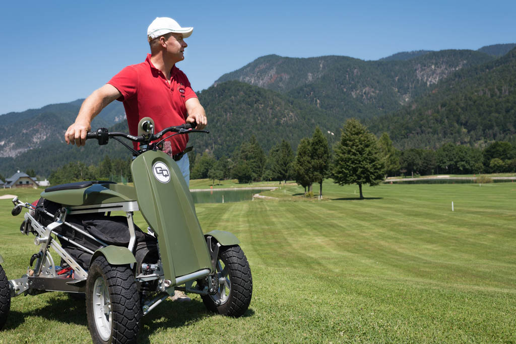 Golf Quad tecnologico